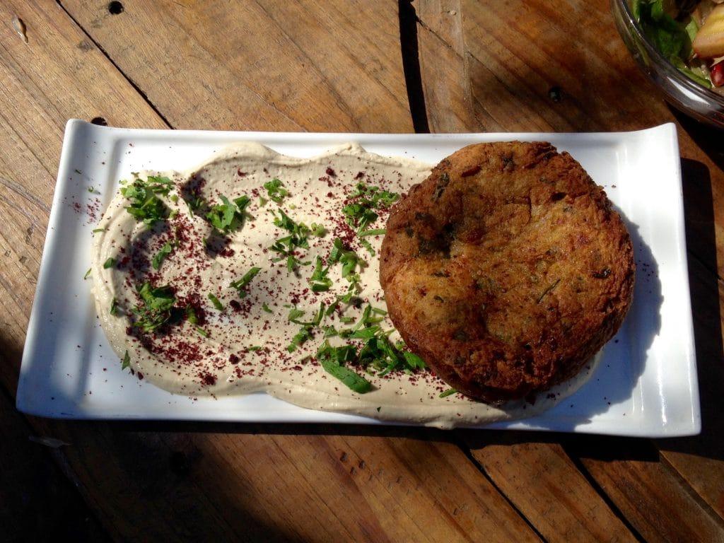 Mshat: cauliflower fritter