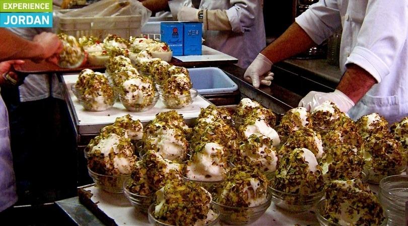 syrian ice cream in jordan - Experience Jordan
