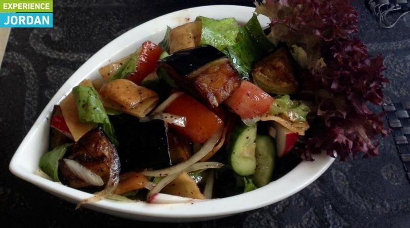 Syrian food in Jordan - Experience Jordan Salad