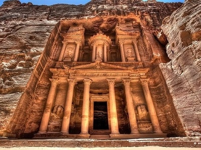 Petra the treasury Khazney