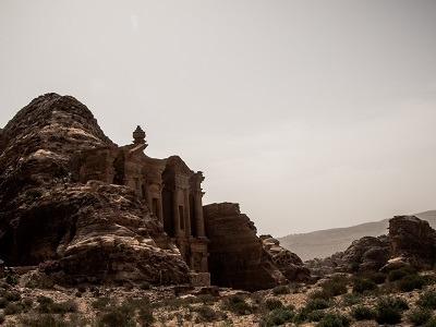 Petra the deir