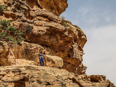 Ahlam in little petra