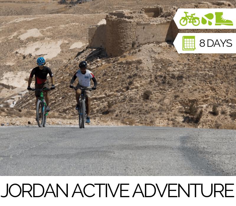 Tours Jordan Active Adventure Cycling