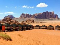 Wadi Rum tents