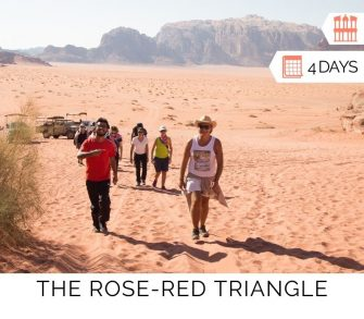 The Rose-Red Triangle Tour in Jordan From Aqaba
