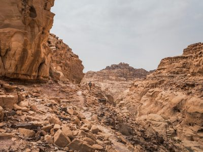 Petra to Wadi Rum - The Jordan Trail