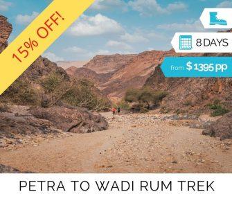 Petra to Wadi Rum Group Trek (1)