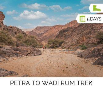 Petra to Wadi Rum Trek